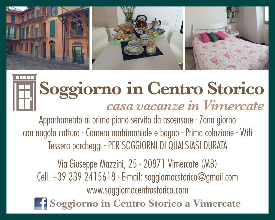 Soggiorno Centro Storico Vimercate
