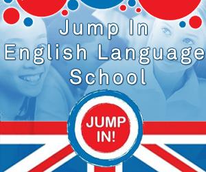 Jump In English